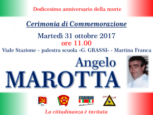 locandina marotta 31-10-2017