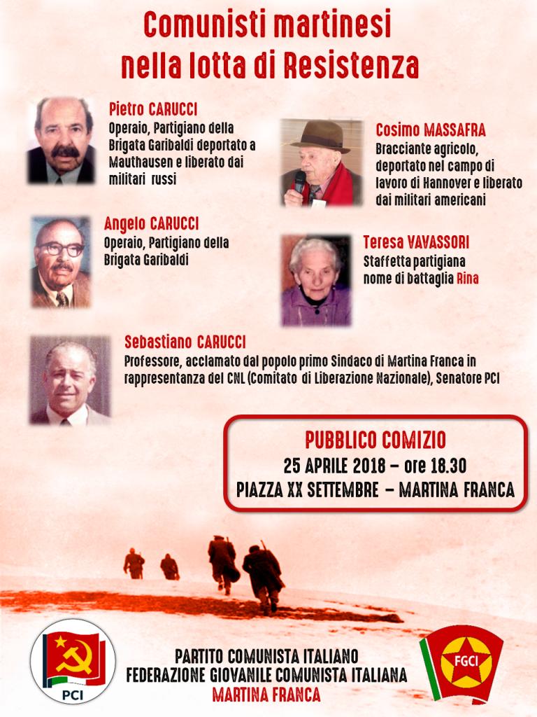 manifesto 25 aprile pci